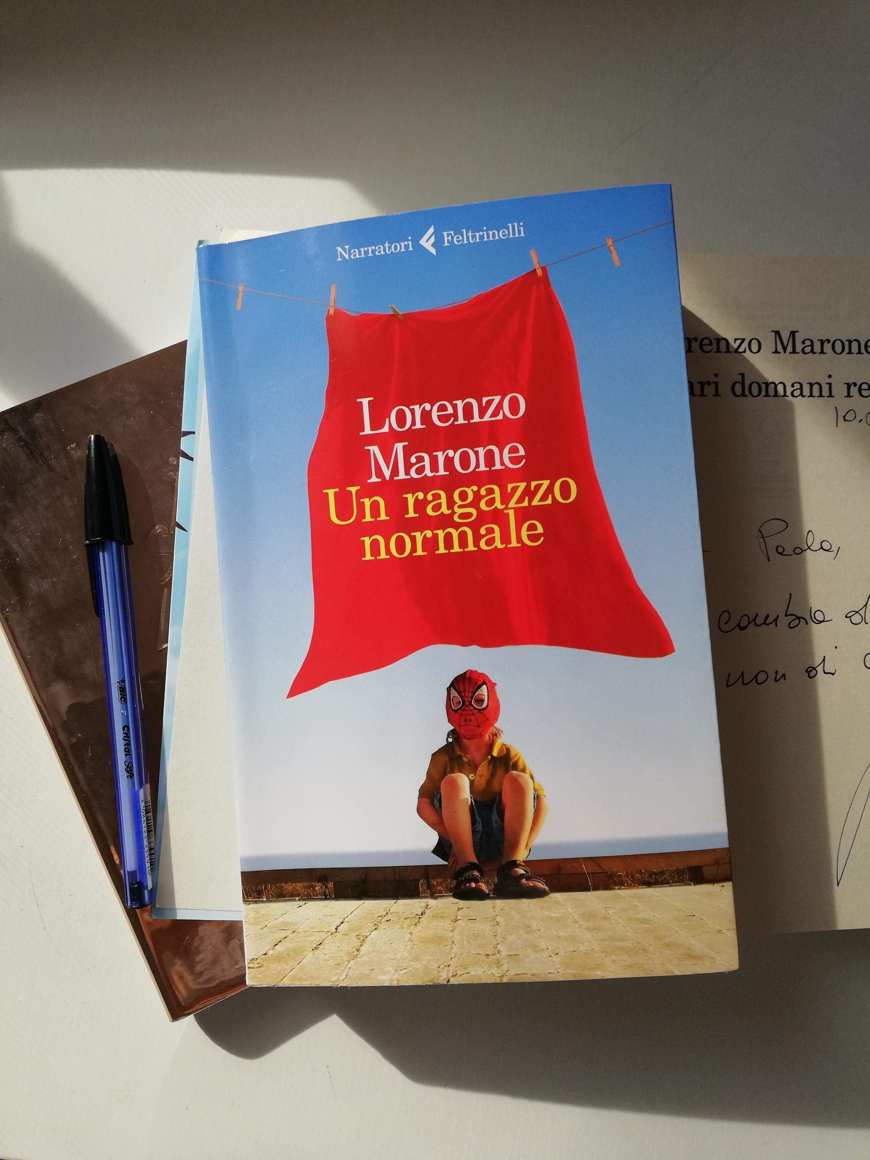 Un ragazzo normale Lorenzo Marone.jpg